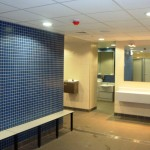 Brentford Fountain Leisure Centre, Changing Room Overview