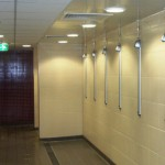 Brentford Fountain Leisure Centre, Changing Room Showers