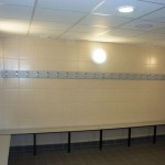 Brentford Fountain Leisure Centre, Changing Room Seating