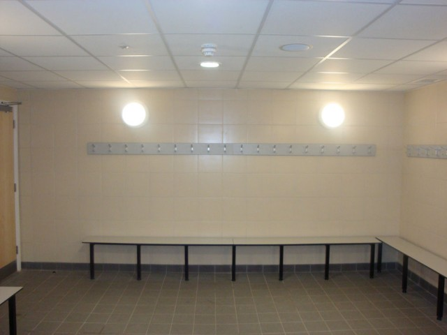 Brentford Fountain Leisure Centre, Changing Room Benches
