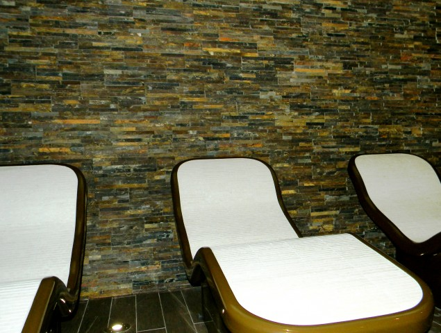 One Leisure, St. Neots - Pure Spa Feature Wall