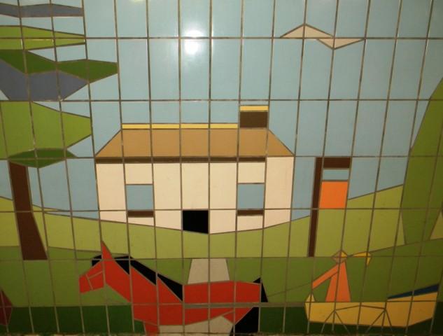 Fiveways Corner Subway - Horse