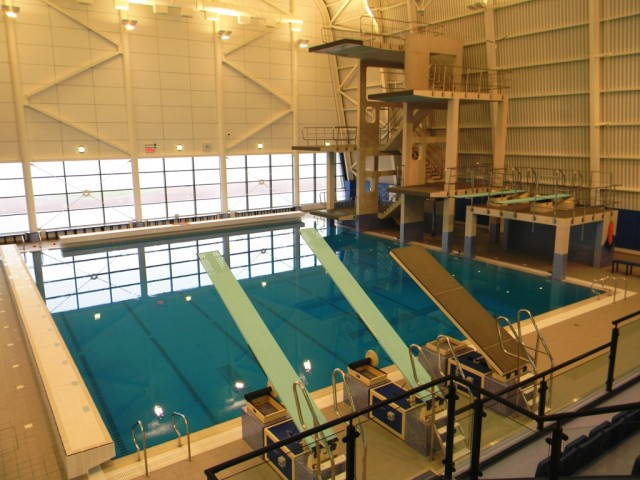 Garons Pool - Dive Pool