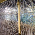 Garons Pool - Dive Tower Shower Detail