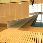 Garons Pool - Diving Block Grating detail