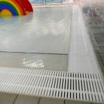 Garons Pool - Leisure Pool Grating Detail