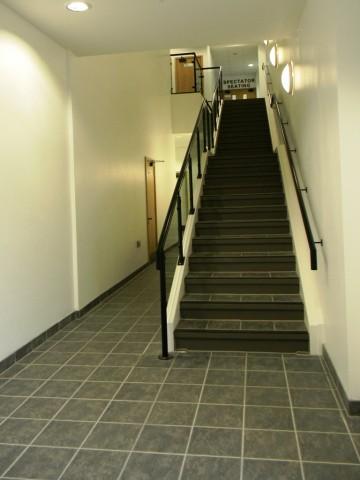 Garons Pool - Staircase to 1st Floor