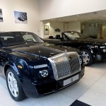 H R Owen Rolls Royce Showroom