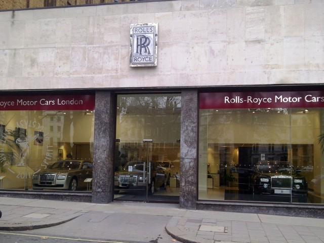 H R Owen Rolls Royce Showroom, Berkeley Square