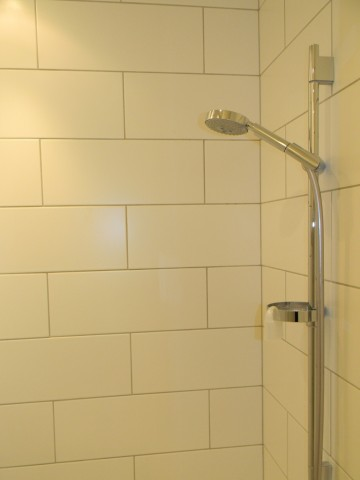 Denewood Road - Pool Shower Detail