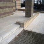 Kadwa Patidar Centre - External Disabled Ramp & Steps