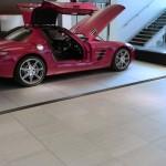 MBUK - Main showroom floor to stairs