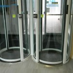 MBUK - Entrance matting to revolving doors