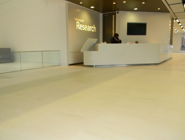 Microsoft Research Cambridge - Reception Floor1