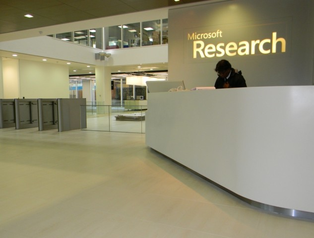 Microsoft Research Cambridge - Reception Floor2