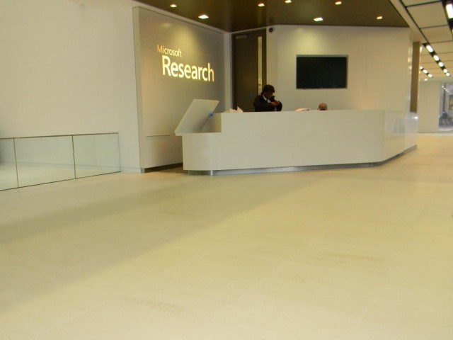 Microsoft Research Cambridge - Reception Floor3