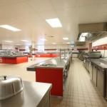 RAF Marham Junior Ranks Mess - main kitchen1