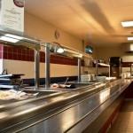 RAF Marham Junior Ranks Mess - main kitchen3