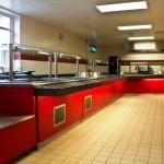 RAF Marham Junior Ranks Mess - main kitchen4