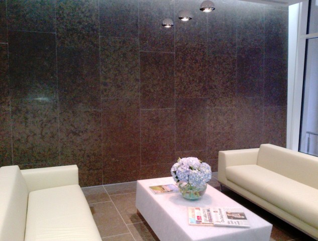 Reception Feature Wall