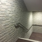 Spa Area Entrance Splitface Feature Tiles