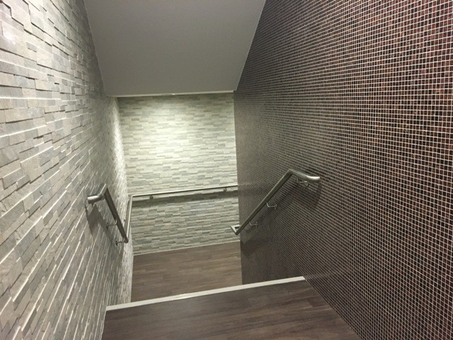 Spa Entrance Stairs