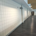 Spectator Seating Wall Tiling