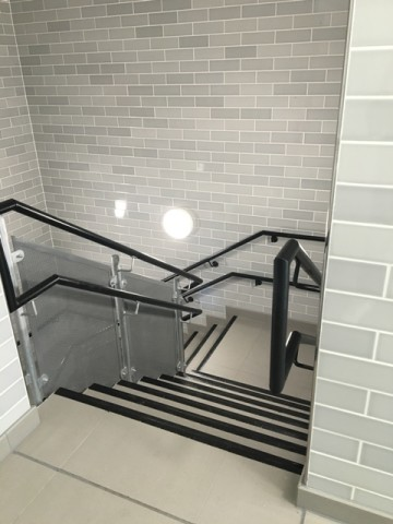 Staircase Wall & Floor Tiling