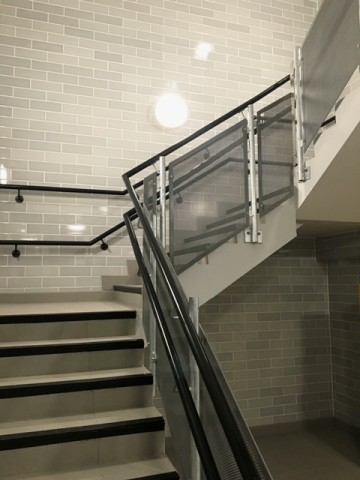 Staircase & Stairwell Wall & Floor Tiling