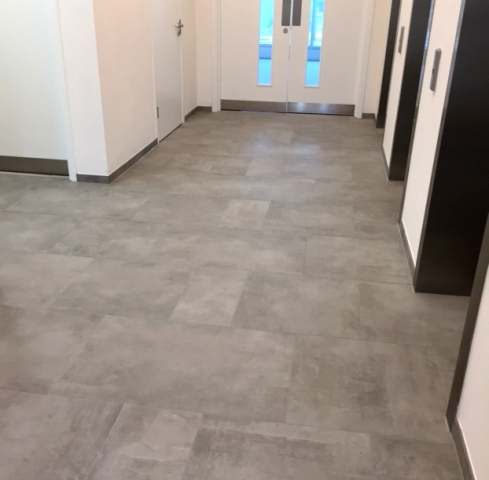 Floor Tiling laid to Pattern